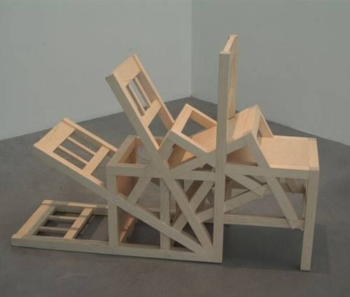 5 geometries  furniture damian ortega