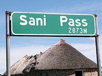Drakensberg  Sani Pass
