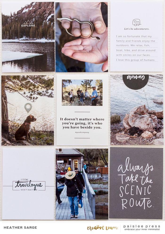 paislee press creative team inspiration | Scenic Route