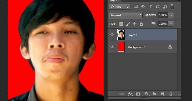 13 Kode Warna Background Pas Foto Untuk Lamaran Kerja Cara Mudah Membuat Pas Foto Dengan Photoshop Grafis Media Download Cara Men Pas Foto Warna Photoshop