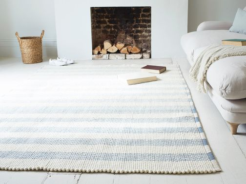 The Greek salad of floor rugs: light, laid-back and happy.