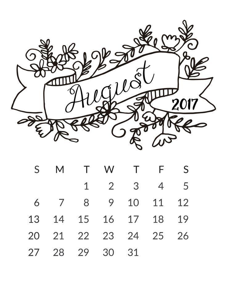 best 25 august calendar ideas on pinterest calendar journal Home Planner Calendar 2015 www freeprettythingsforyou com wp content uploads 2016 12 8 aug 2017 home planner calendar 2015