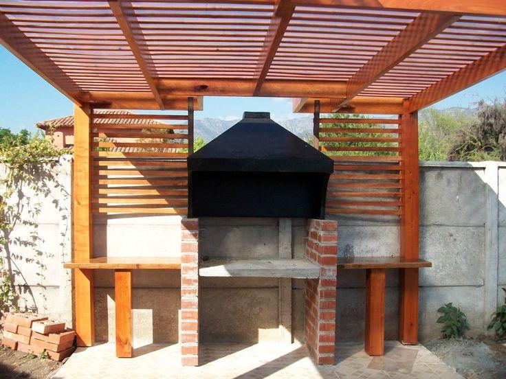 Modelos de quinchos de ladrillos buscar con google for Modelos de jardines interiores