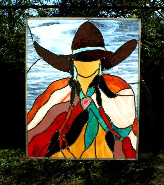 Glass by Olimpia Stained Glass Custom Panel by GlassByOlimpia,