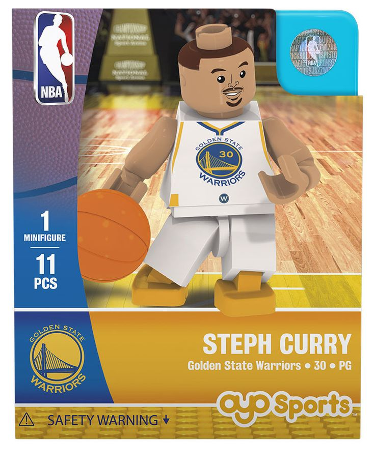 Golden State Warriors STEPH CURRY Home Uniform Limited Edition OYO Minifigure