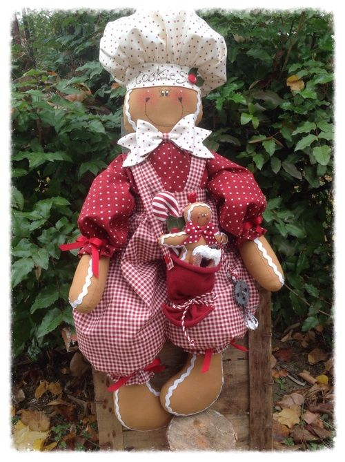 Cartamodelli Gingerbread : Cartamodello Pan di Zenzero