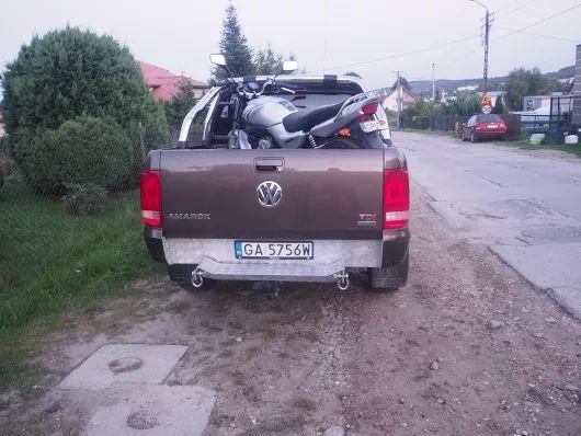 VW Amarok Po przeróbkach
