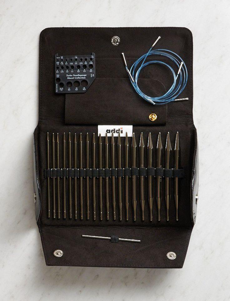 Addi Click Turbo Set - Interchangeable circular knitting needles