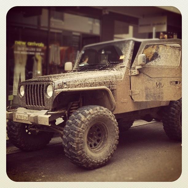 Bondi Mud Beast #bondi #car #mud #atbondi #jeep