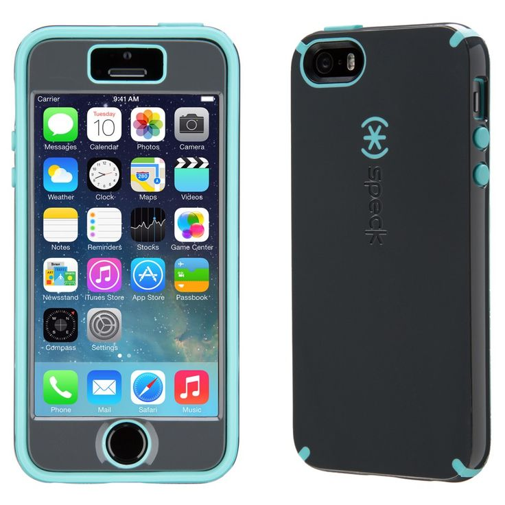 CandyShell + FACEPLATE iPhone5s & iPhone 5 Cases | Slate/Mykonos Target Exclusive | Speck Cases