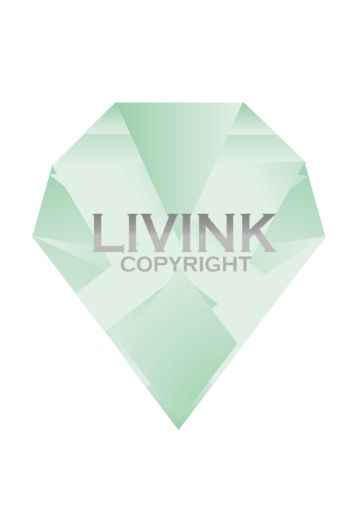 A4 Graduated diamond - Mint via LIVINK. Click on the image to see more!
