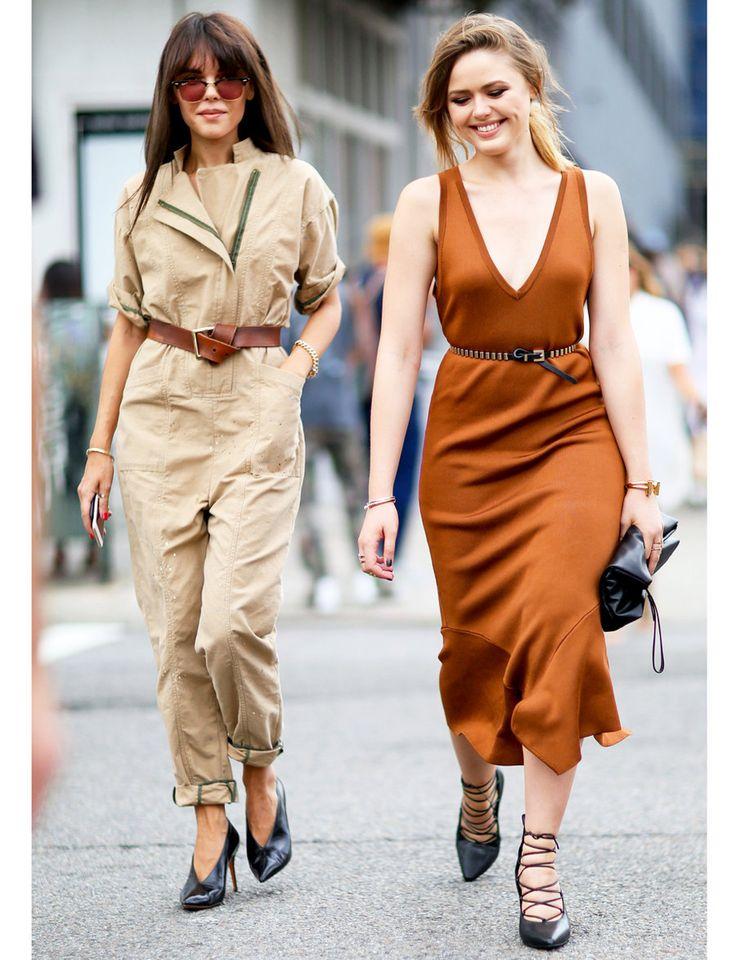 トレンドカラーその1:ブラウンを狙え #16SS #NYFW で発見! スカートにまつわる8つの新トレンド