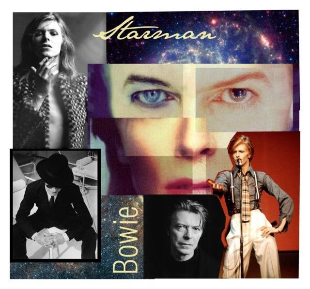 """""""David Bowie"""" by princessbollywood ❤ liked on Polyvore"""