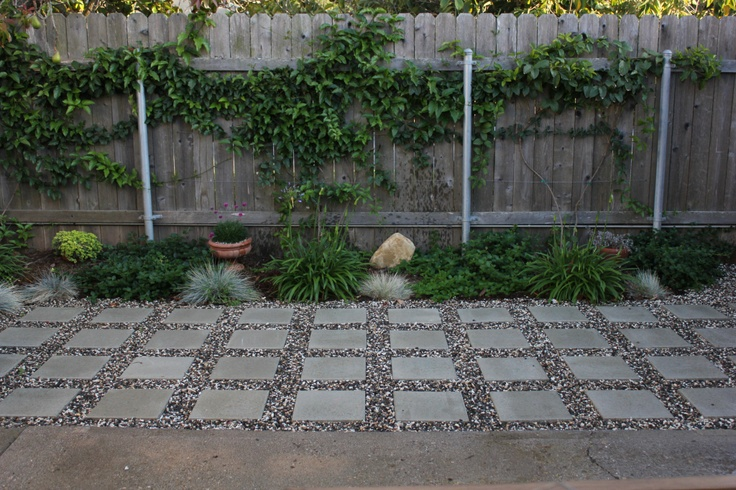 Pavers and pebbles outdoor designs pinterest patio ideas for Paving stone garden designs