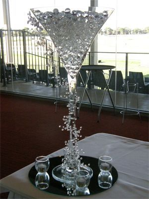 Wedding   Centrepieces On Pinterest | Martini Glass Centerpiece .