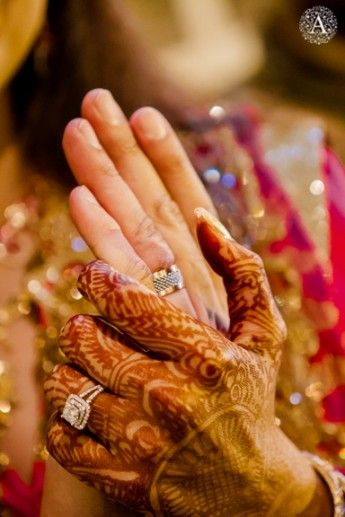 a pune nikah with an online love story ali shaista - Indian Wedding Rings