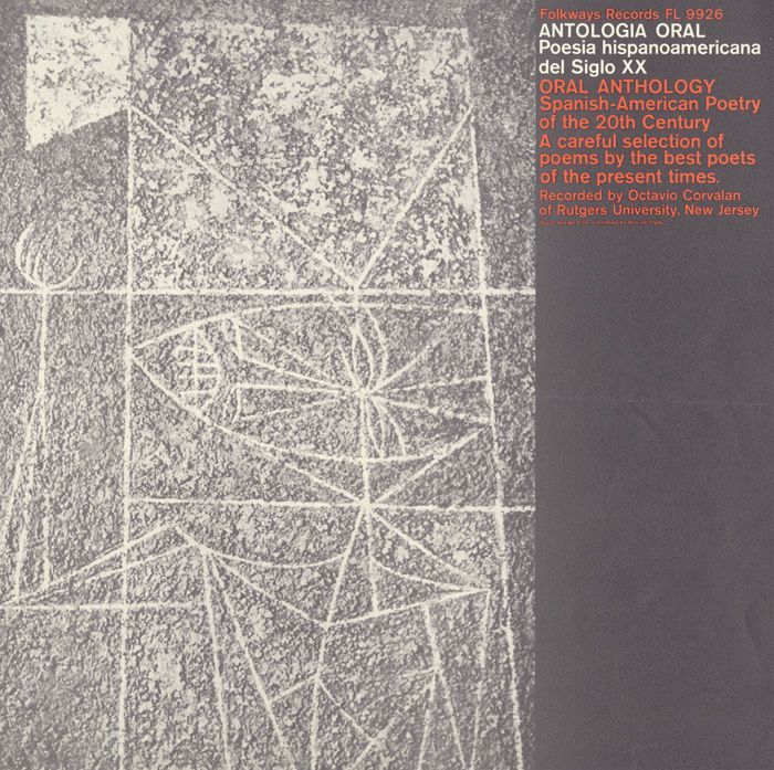 Smithsonian Folkways - Antologia Oral: Poesia Hispanoamericana del Siglo XX Oral Anthology: Spanish-American Poetry of the 20th Century - Various Artists