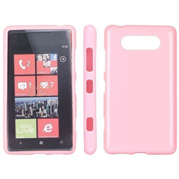 Soft Shell (Pink) Nokia Lumia 820 Cover