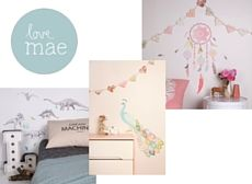 Love Mae Fabric Wall Decals