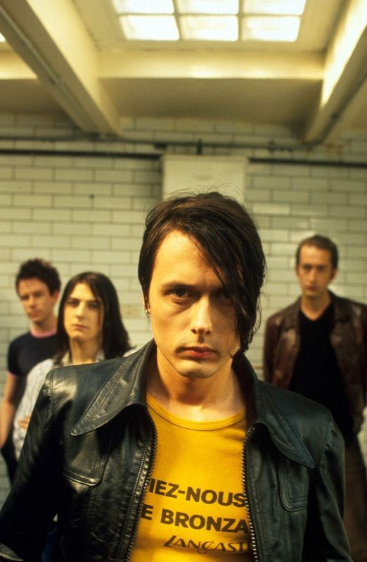 Suede -- Brett in his yellow shirt