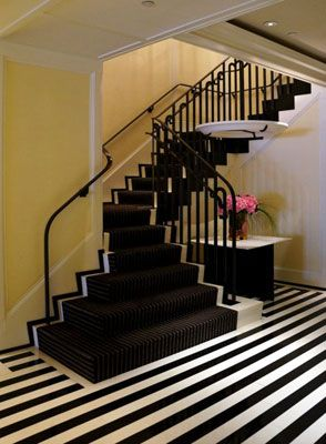 art deco interior lobby staircase - Google Search