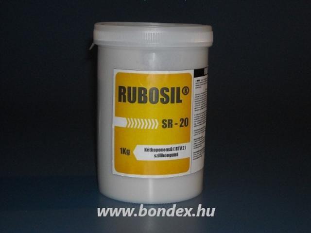 Rubosil cukrászati önthető szilikon egyedi édesipari formákhoz