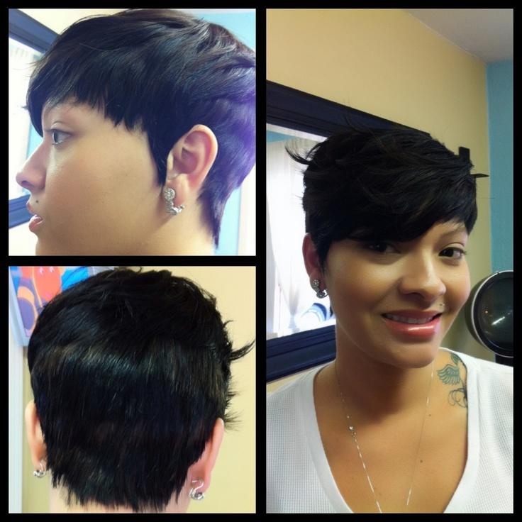 pixie haircut 42 best weave images on bobs 9671