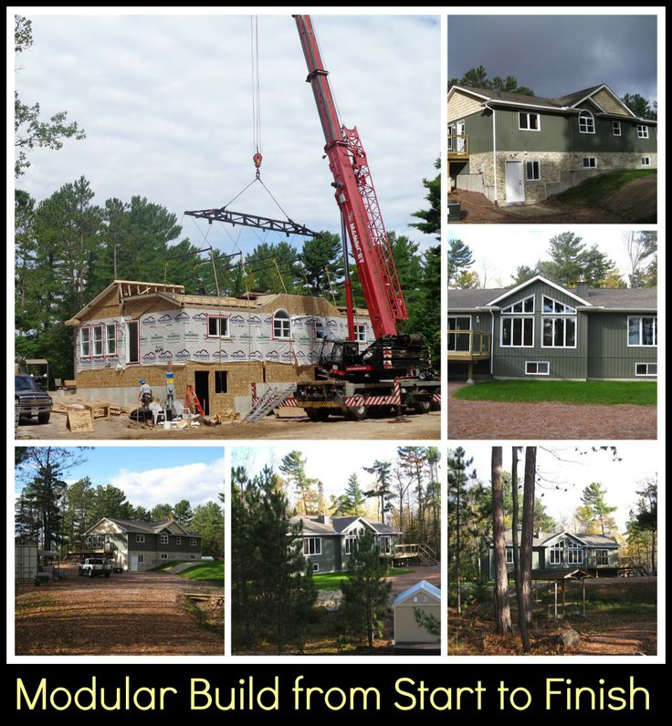 Modular Home Delivery from Start to Finish in South Bay Nipissing, on Lake Nipissing, Ontario