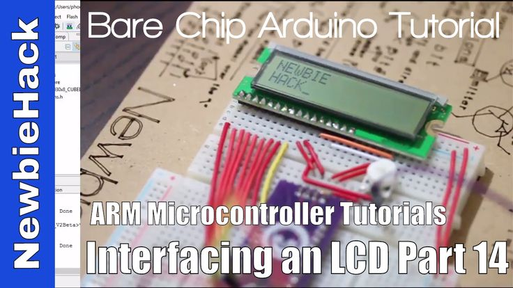 27. How to Interface an LCD to an ARM Microcontroller Tutorial - Part 14