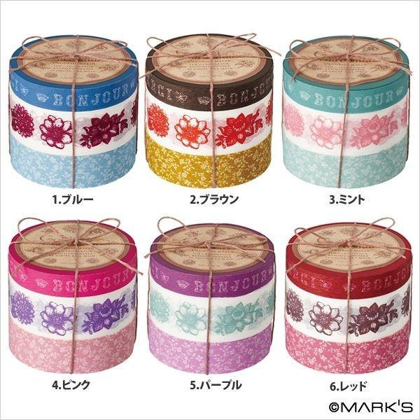 washi tape stacks - yum!