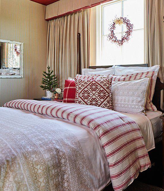 Southern Living Elliot Linen & Cotton Comforter Mini Set