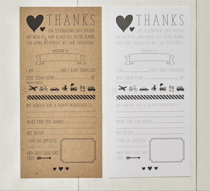 wedding ice breaker cards for the reception tables ring