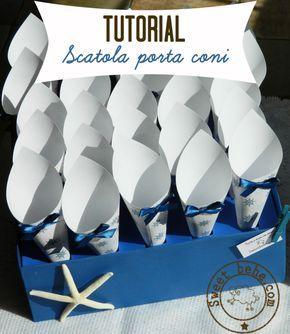 confetti cones box diy