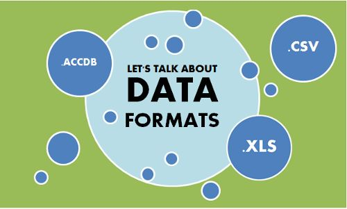 What data formats does SBI support?