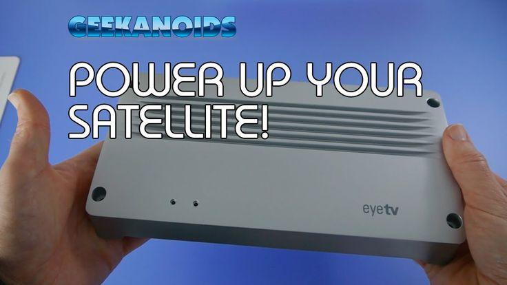 Elgato eyetv netstream 4Sat Review - DVB-S2 Network Tuner @Osmar Andres Hernandez [ http://www.youtube.com/geekanoids ]