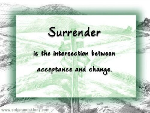Surrender Quote