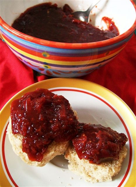 Naturally Sweetened Strawberry Jam