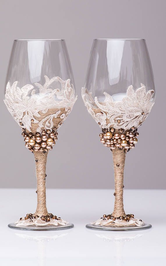 best 20  wedding wine glasses ideas on pinterest