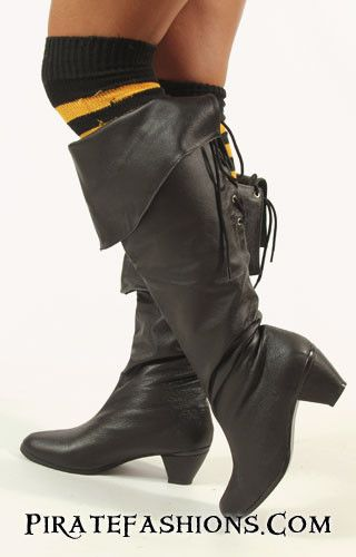 Lady Pirate Boots N Shoes – Pirate Fashions