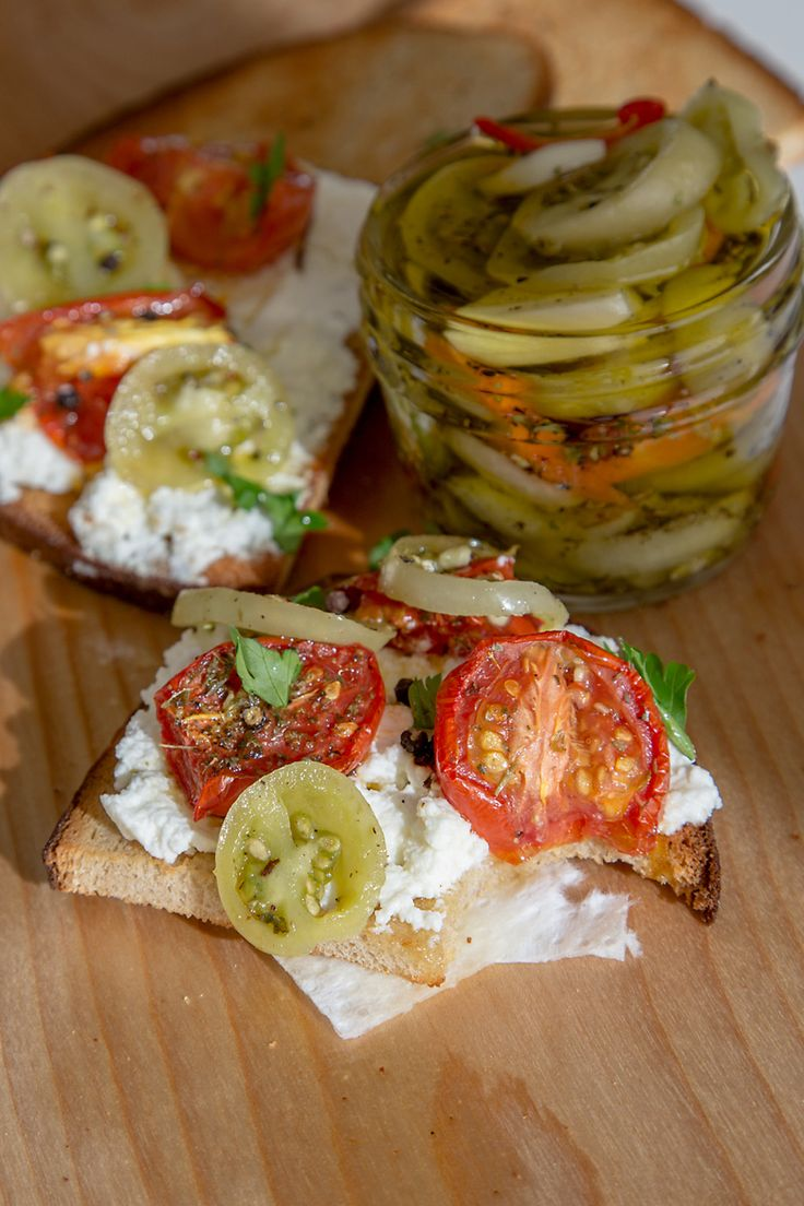 Italy S Secret Condiment Pickled Green Tomatoes Pickled Green Tomatoes Green Tomato Recipes Pickling Recipes