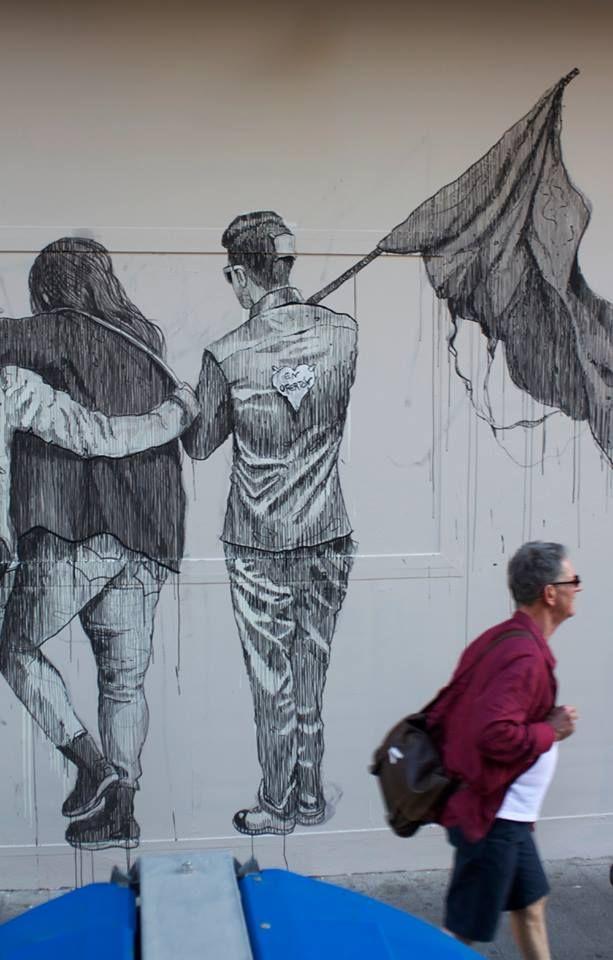 Daniel munoz san new mural in valencia 03 street art for Mural hidupan laut