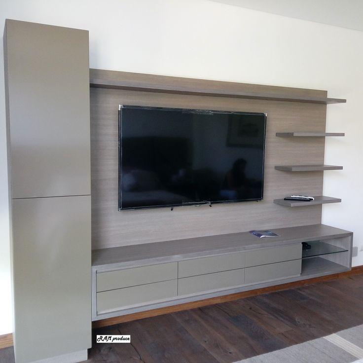 Muebles televisión, bar y mesa de Luz