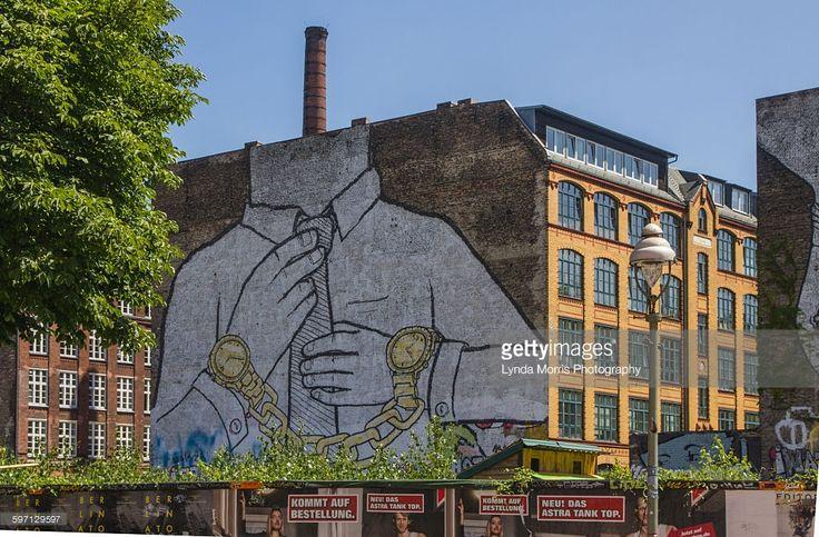 Stock Photo : Blu murals, Berlin - street art