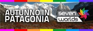 """Parte oggi la campagna promozionale di Seven Worlds/Patagonia World """"Autunno in Patagonia, una girandola di colori"""". 2 fantastiche escursioni in omaggio a tutti gli iscritti ad un tour di gruppo solo con Patagonia World.  Per saperne di più visita la pagina dedicata alla campagna http://www.sevenworlds.it/landingpages/autunno-in-patagonia.aspx  Guarda e condividi il nostro video promozionale. http://www.youtube.com/watch?v=C5XteucmQrk"""