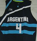 For Sale - TEAM ARGENTINA LUIS SCOLA JERSEY XL XLARGE NWT Argentine Indiana Pacers Baskonia