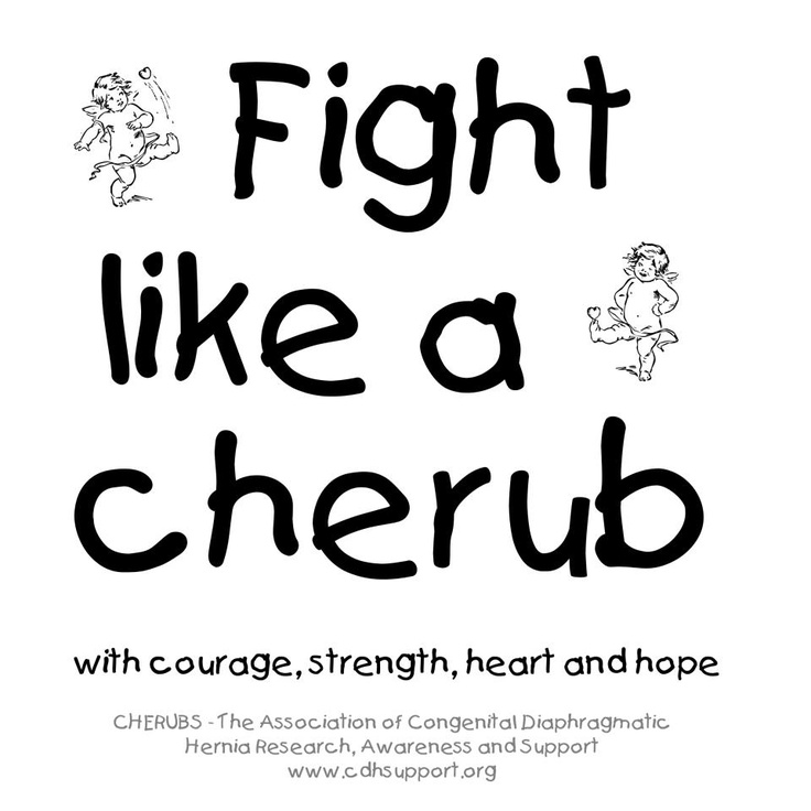 Congenital Diaphragmatic Hernia Awareness    Fight Like A Cherub