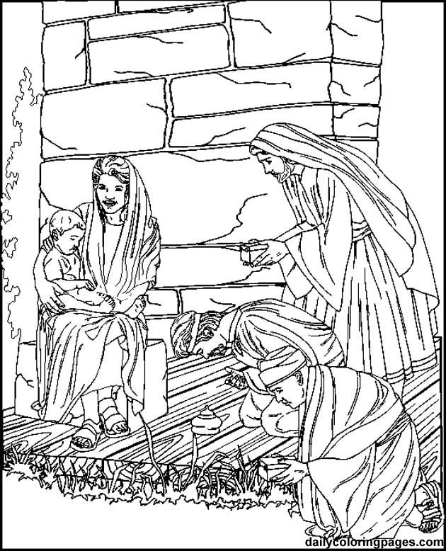 7 best coloring pages images on Pinterest Coloring book, Coloring - best of coloring page jesus in the desert