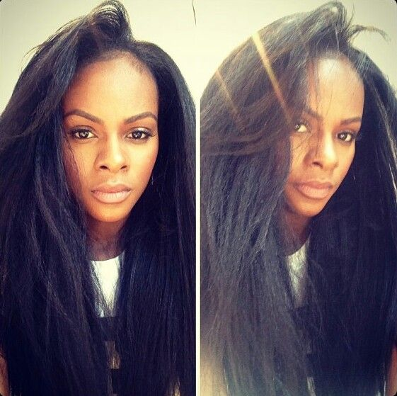 Tika Sumpter real hair, so healthy and lush