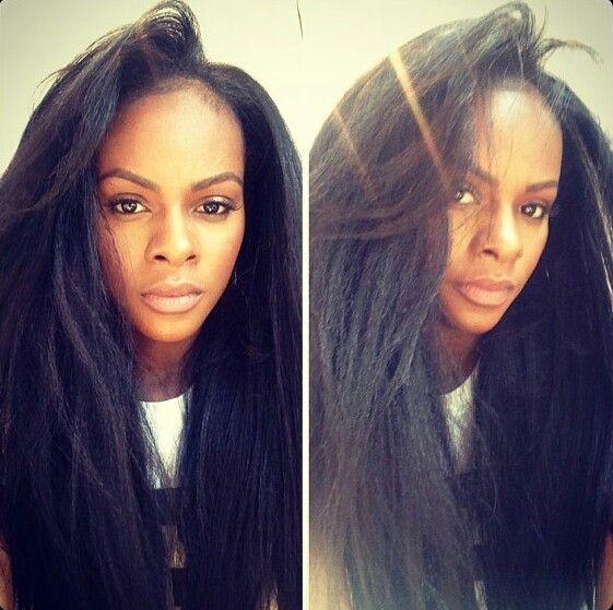 Tika Sumpter real hair, so healthy and lush