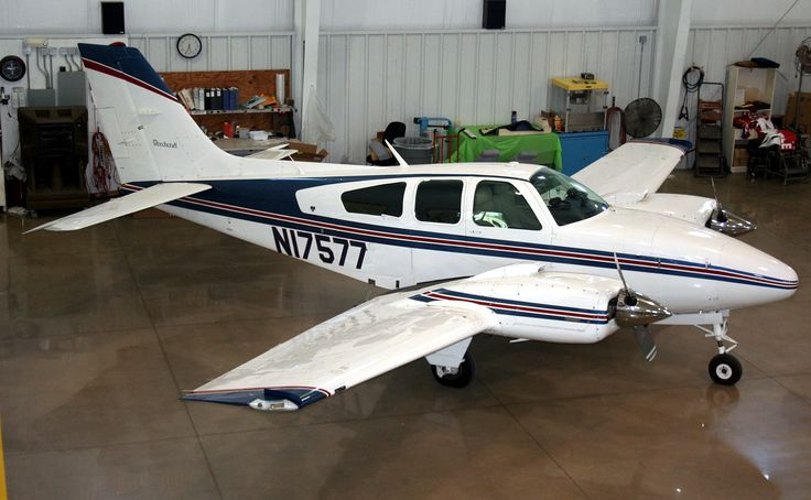 1977 Beechcraft Baron E55 for sale in OK United States => www.AirplaneMart.com/aircraft-for-sale/Multi-Engine-Piston/1977-Beechcraft-Baron-E55/12741/